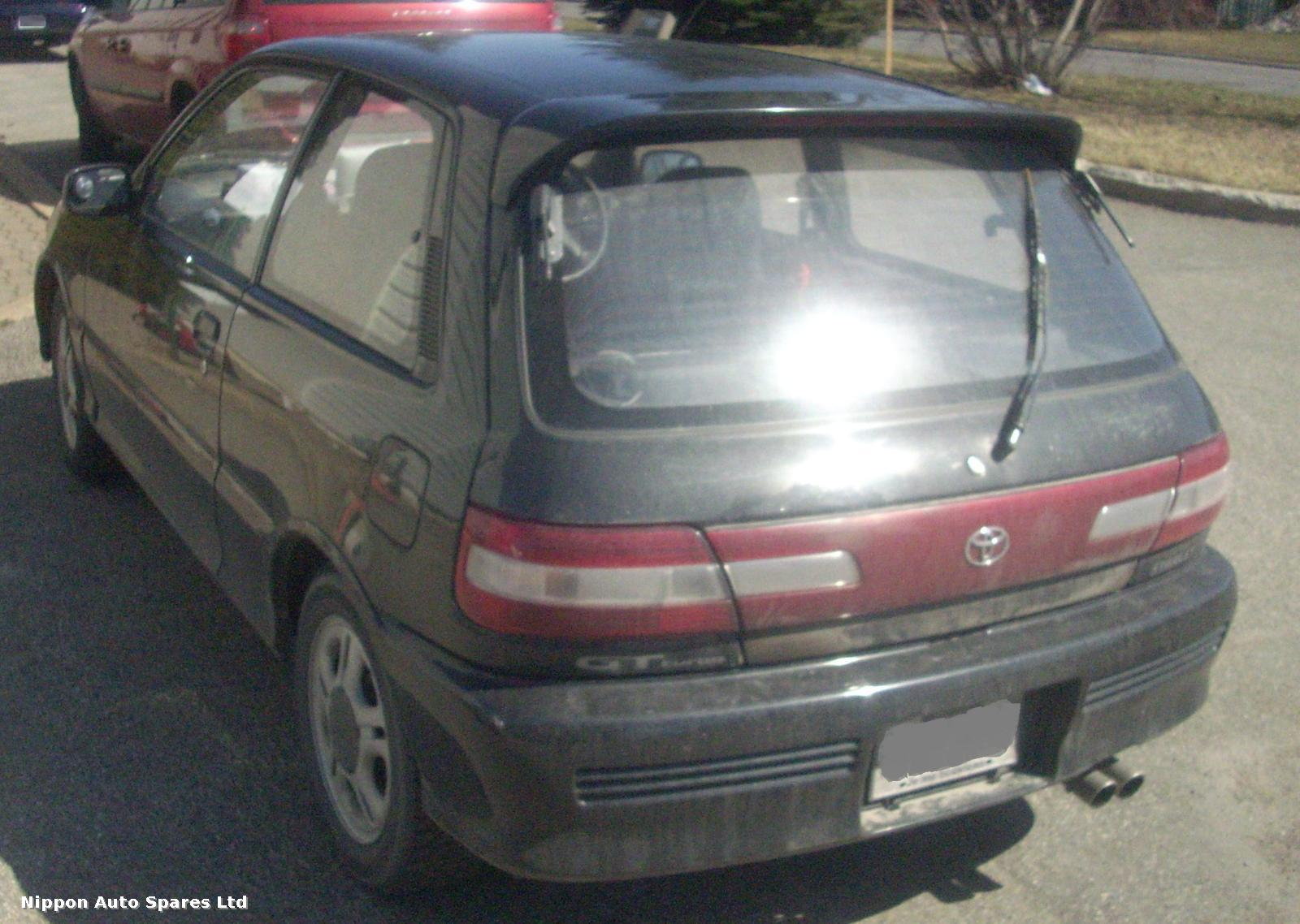 Toyota STARLET R Taillight RIGHT SIDE INNER ON TAILGATE: 24382
