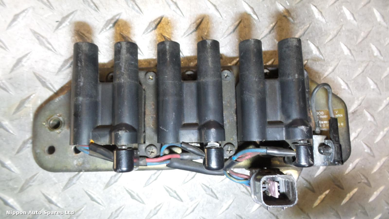 Mitsubishi GTO Coil/Coil Pack F-608 SOLD AS SET OF 3 1990-1999: 43821