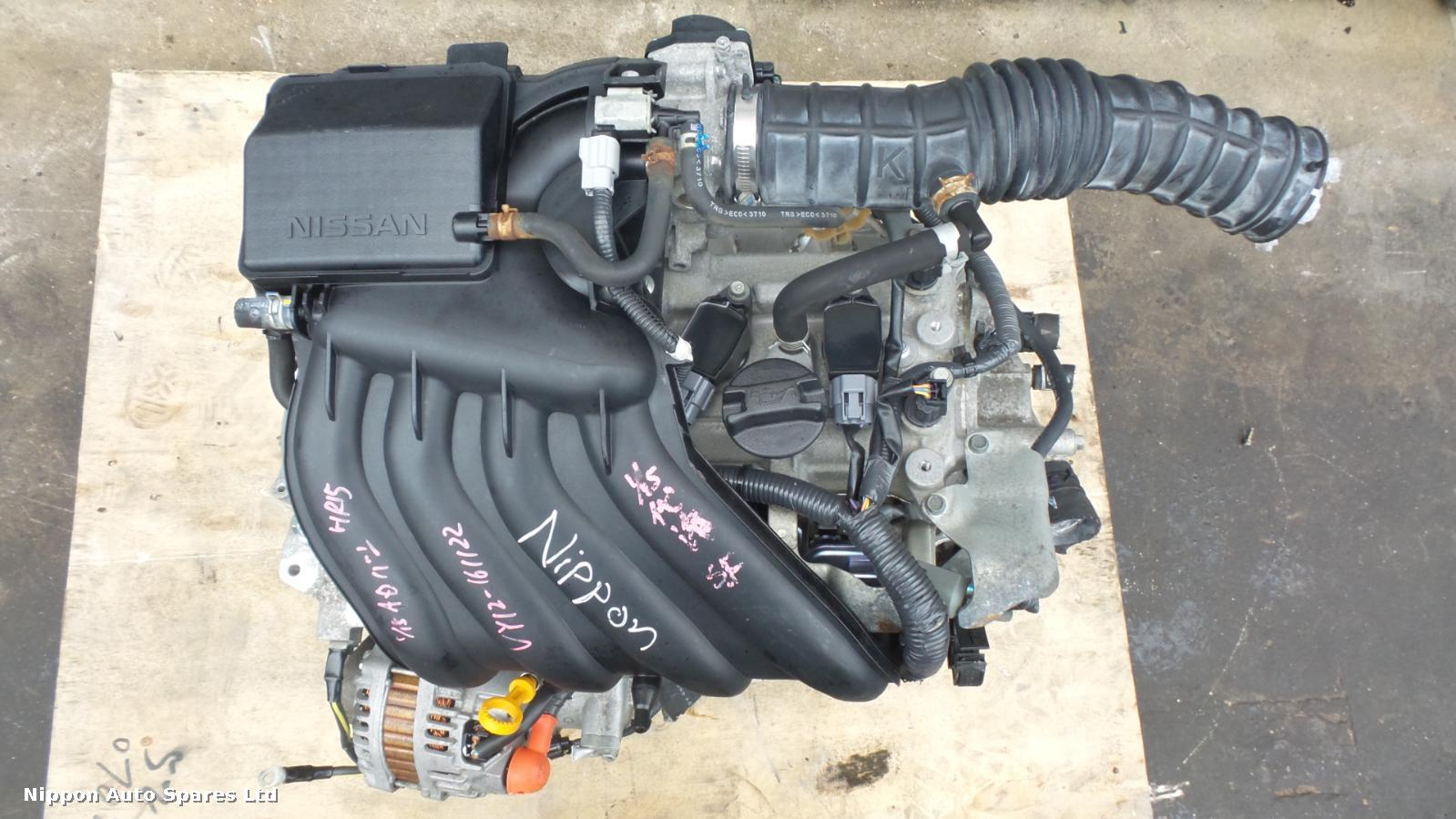 Nissan NOTE Engine HR15-DE : 45187