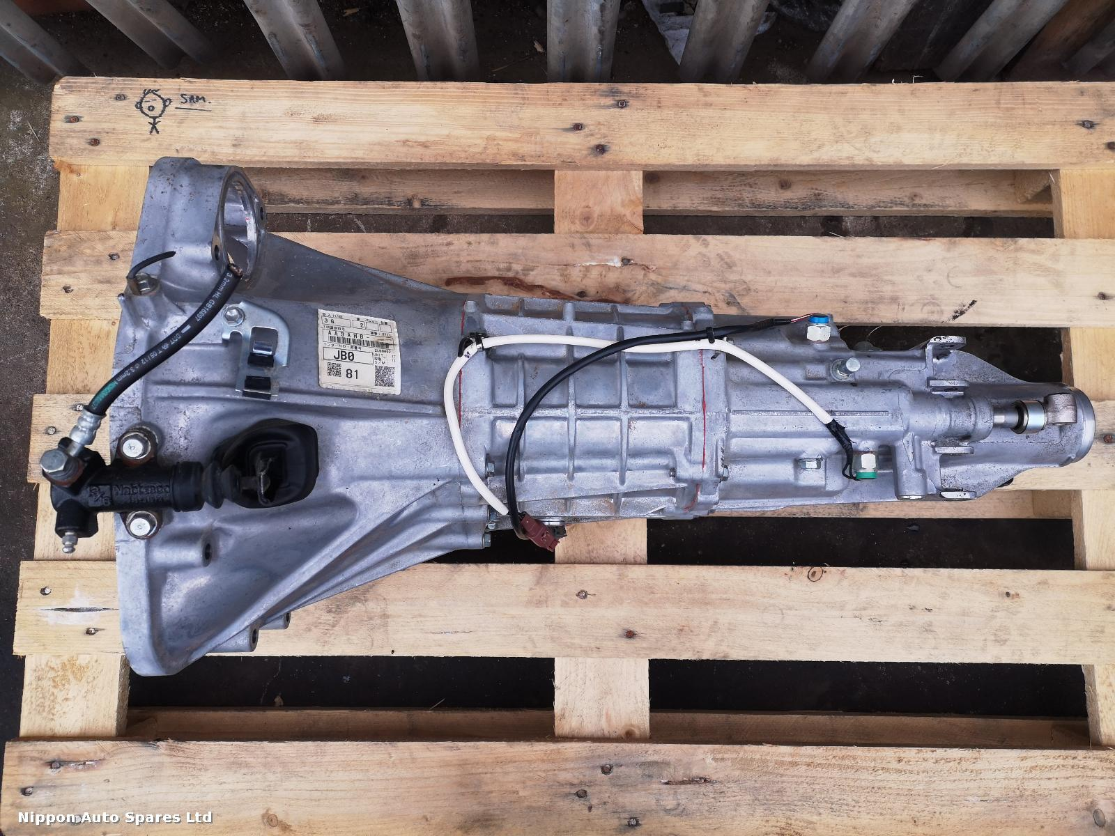 Toyota GT86 Gearbox 6 SPEED MANUAL : 49781