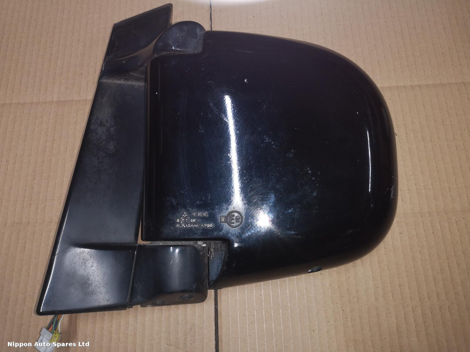 Mitsubishi DELICA L Door Mirror MATT BLACK 7 WIRE: 50295