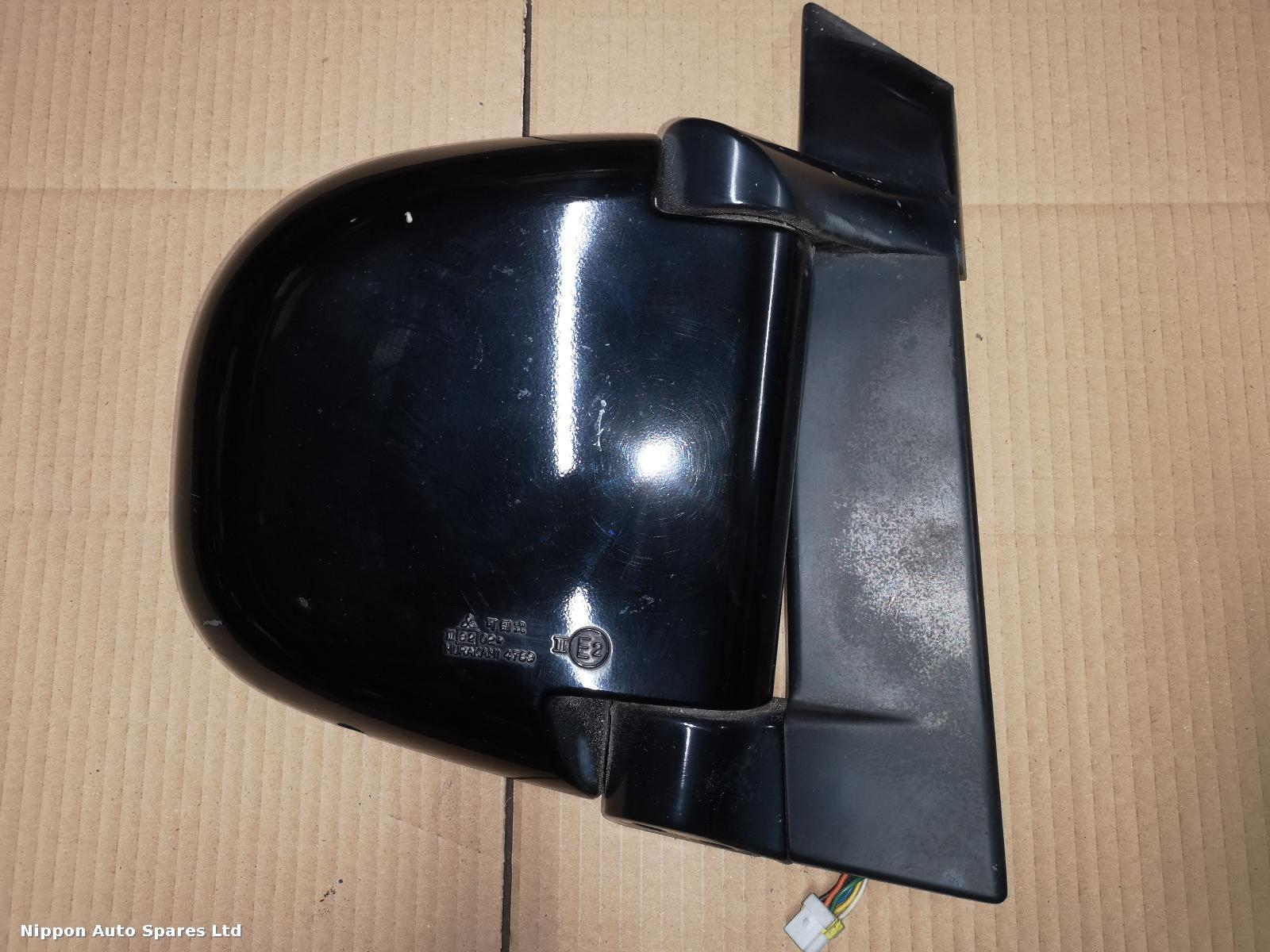 Mitsubishi DELICA R Door Mirror MATT BLACK 7 WIRE: 50296