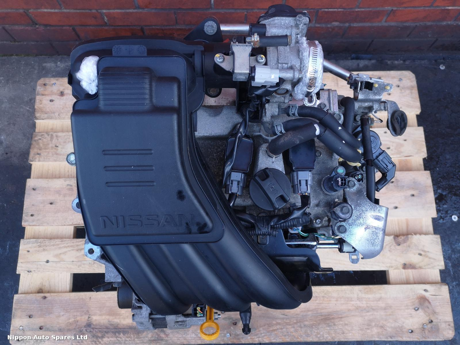 Nissan MICRA Engine HR12-DE: 53353