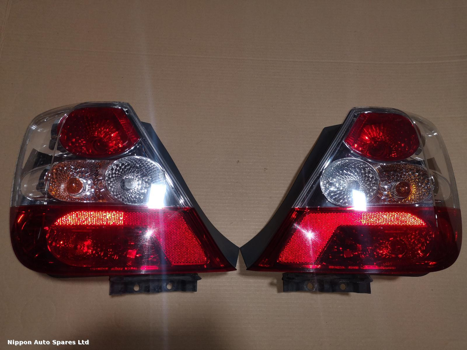 Honda CIVIC L Taillight FACE LIFT 3 DOOR PAIR: 57036